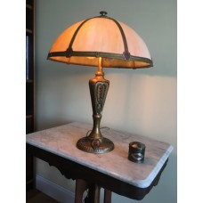 SKU20 1920's Rainaud Co. Slag Lamp for sale