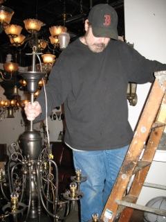 antique ceiling lighting