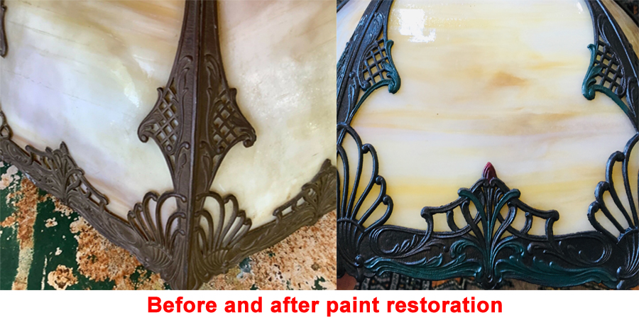 Tiffany lamp repair